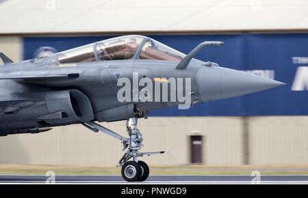 French Navy (Marine Nationale) Dassault Rafale M - Stock Photo