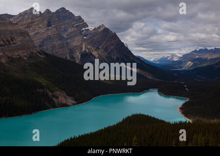 Peyto Lake - Stock Photo