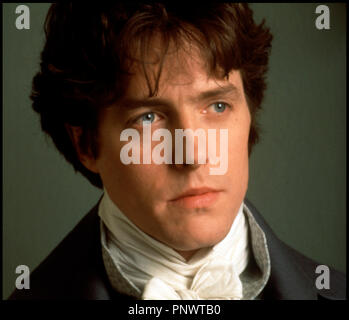 Prod DB © Columbia / DR RAISON ET SENTIMENT (SENSE AND SENSIBILITY) de Ang Lee 1995 USA/GB avec Hugh Grant portrait d'apres le roman de Jane Austen - Stock Photo