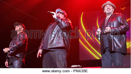 Colour Me Badd perform at the 'I Love The 90's' concert at liverpool arena on saturday 07 october 2017 - Stock Photo