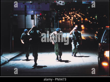 Prod DB © Milky Way / DR PTU (PTU) de Johnny To 2003 HK commando, forces d'elite, - Stock Photo