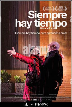 Prod DB ©  Audiovisual Aval SGR - Basque Films - Canal Sur Televisión / DR SIEMPRE HAY TIEMPO de Ana Rosa Diego 2009 ESP. affiche espagnole - Stock Photo