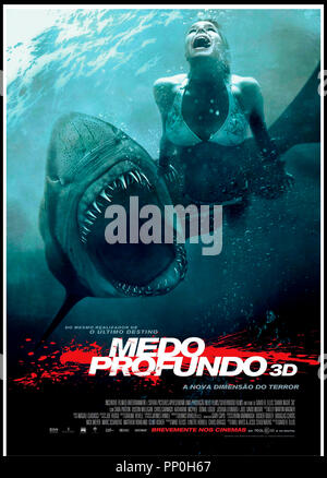 Prod DB © Incentive Filmed Entertainment - Next Films - Sierra Pictures / DR SHARK 3D (SHARK NIGHT 3D) de David R. Ellis 2011 USA affiche portugaise requin, aventure, horreur - Stock Photo