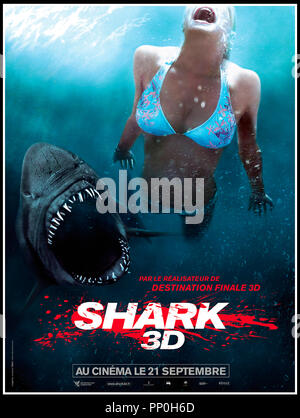 Prod DB © Incentive Filmed Entertainment - Next Films - Sierra Pictures / DR SHARK 3D (SHARK NIGHT 3D) de David R. Ellis 2011 USA teaser français requin, aventure, horreur - Stock Photo