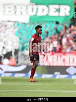 firo: 22.09.2018 Fuvuball, Football: 1.Bundesliga 1.FC Nvºrnberg - Hanover 96, Virgil Misidjan, Nvºrnberg, full figure, | usage worldwide - Stock Photo
