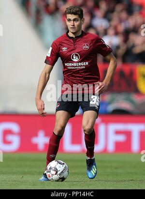 firo: 22.09.2018 Fuvuball, Football: 1.Bundesliga 1.FC Nvºrnberg - Hanover 96 2: 0, Alexander Fuchs, full figure, single action, Nvºrnberg $ worldrights, Our terms and conditions, available at www.firosportphoto.de, copyright by firo sportphoto: Coesfelder Str. 207 D-48249 Dvºlmen GERMANY, www.firosportphoto.de mail@firosportphoto.de (V olksbank B ochum - W itten) IBAN DE68 4306 0129 0341 1171 00 Tel: ¬ †   49-2594-9916004 Fax : ¬ †   49-2594-9916005 - Stock Photo