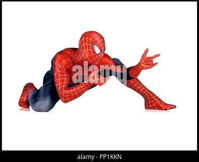Prod DB © Columbia - Marvel Entertainment / DR SPIDERMAN 2 (SPIDER-MAN II) de Sam Raimi 2004 USA avec Tobey Maguire d'apres la B.D. (comics) de Stan Lee et Steve Ditko - Stock Photo