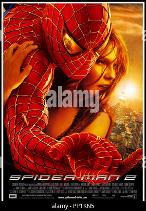 Prod DB © Columbia - Marvel Entertainment / DR SPIDERMAN 2 (SPIDER-MAN II) de Sam Raimi 2004 USA visuel d'affiche d'apres la B.D. (comics) de Stan Lee et Steve Ditko - Stock Photo