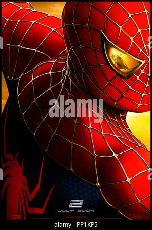 Prod DB © Columbia - Marvel Entertainment / DR SPIDERMAN 2 (SPIDER-MAN II) de Sam Raimi 2004 USA visuel d'affiche, - Stock Photo