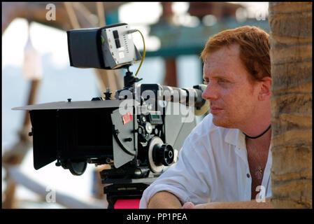 Prod DB © Spaghetti Film - Living Films / DR SIMON (SIMON) de Eddy Terstall 2004 HOLL. avec Eddy Terstall sur le tournage camera aaton, portrait, roux, rouquin, taches de rousseur - Stock Photo