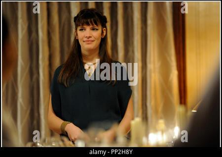 Prod DB © N. Dove - Film4 - Free Range Films - Le Bureau / DR UN WEEK-END A PARIS (LE WEEK-END) de Roger Michell 2013 GB avec Judith Davis - Stock Photo