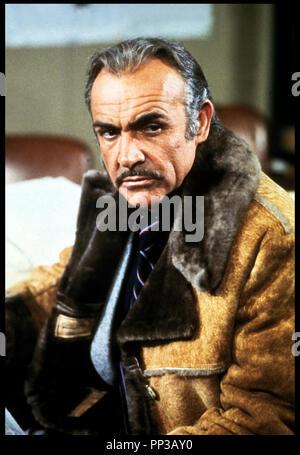 Prod DB ©Ê20th Century Fox / DR UN HOMME VOIT ROUGE (RANSOM / THE TERRORISTS) de Caspar Wrede 1975 GB avec Sean Connery portrait - Stock Photo