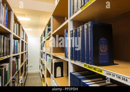 International Maritime Organisation library - Stock Photo