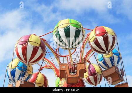 Balloon Race on Morey's Piers, Wildwood, New Jersey, USA