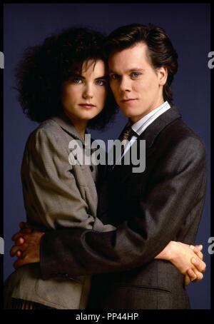 Prod DB © Paramount / DR LA VIE EN PLUS (SHE'S HAVING A BABY) de John Hughes 1988 USA avec Elizabeth McGovern et Kevin Bacon portrait, couple - Stock Photo