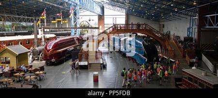 The National Railway Museum York - Stock Photo