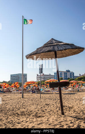 Lignano Sabbiadoro Beach - Stock Photo