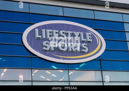 df57b2a87d3db Blanchardstown, Dublin, Ireland. 23rd Sept 2018: Lifestyle Sport ...