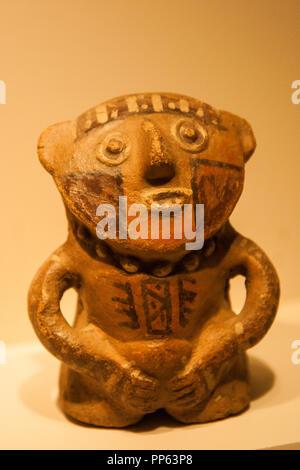 Golden Pre Columbian Inca Mask Replica Sheet Brass With