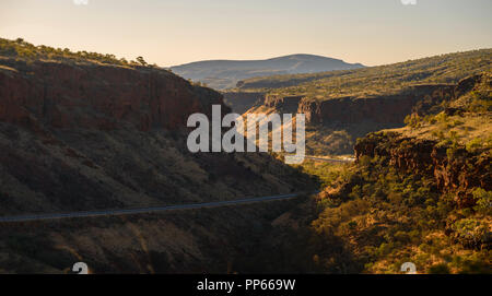 Great Northern HWY, Albert Tognilini Rest Area, near Karijini National Park, WA, Australia - Stock Photo