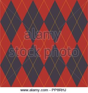 Lozenge - Geometric design for fabric - Stock Photo