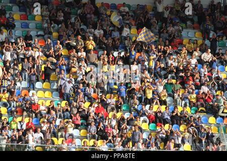 Frosinone / Italy - 28/7/2017: The inauguration of the Benito Stirpe stadium - Stock Photo