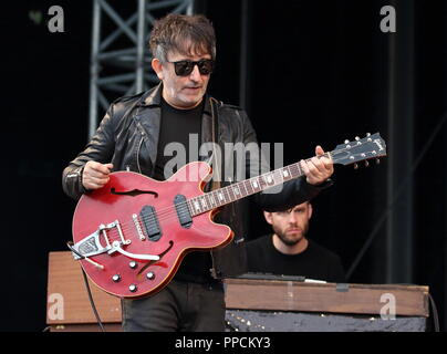 Victorious Festival - Day 1 at Southsea seafront, Portsmouth, Hampshire  Featuring: Lightning Seeds Where: Southsea, United Kingdom When: 24 Aug 2018 Credit: WENN.com - Stock Photo