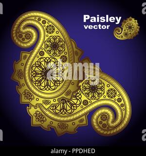 Vector.paisley. - Illustration for your design - Stock Photo
