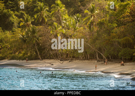 Beach scenes, Corcovado National Park, Osa Peninsula, Costa Rica - Stock Photo