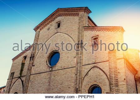 Auditorium del Carmine builing (ex chiesa di Santa Maria del Carmine) in Parma, Emilia-Romagna, Italy - Stock Photo