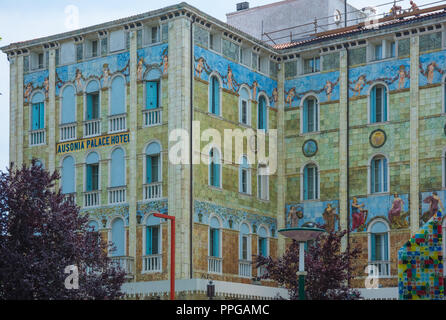 Venedig, Lido, Ausonia Palace Hotel - Venice, Lido, Ausonia Palace Hotel - Stock Photo