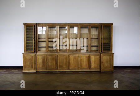 Old living room furniture, furniture detail and interior decoration - Stock Photo