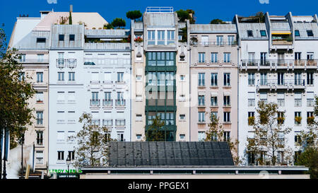 Postcard from Paris. France. October 2016 - Stock Photo