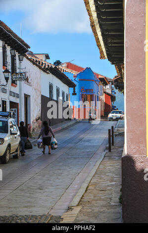 Chiapas, Mexico landscapes and still life in San Cristobol de Las Casis - Stock Photo
