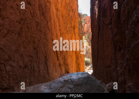 west macdonnell ranges, standley chasm, gorge, near alice springs, Nothern Territory, Australia - Stock Photo