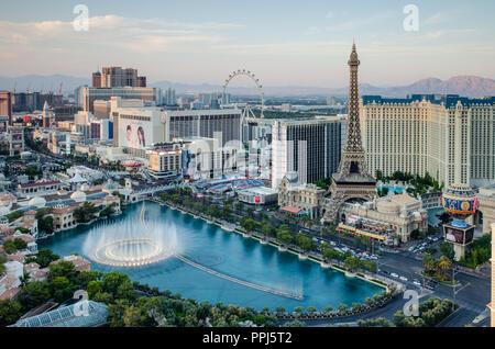 Las Vegas Boulevard & Bellagio Fountains