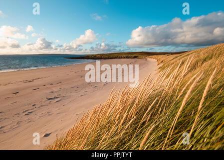 Sands of Doomy, Isle of Eday, Orkney - Stock Photo