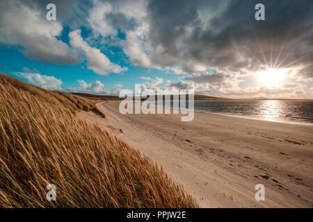 Sands of Doomy, Isle of Eday - Stock Photo