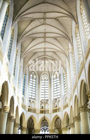Hooglandse Kerk Church Interior, Leiden - Stock Photo