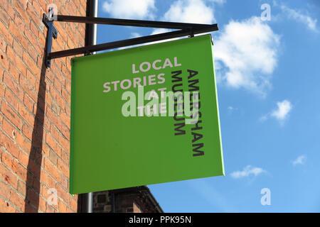 Amersham Museum, High Street, Amersham, Buckinghamshire - Stock Photo