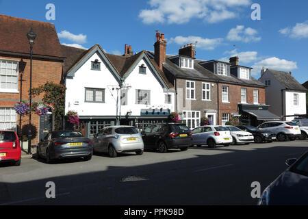 High Street, Amersham, Buckinghamshire - Stock Photo