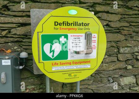 Defibrillator. - Stock Photo