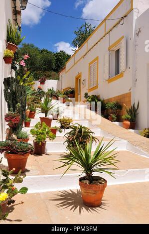 Alvor, Algarve. Portugal - Stock Photo