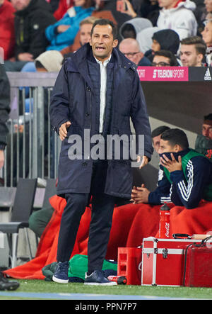 Munich, Germany. 25th Sep 2018. FC Bayern Soccer, Munich, September 25, 2018   Hasan ( Brazzo ) Salihamidzic, FCB Sport director  FC BAYERN MUNICH -  FC AUGSBURG 1-1  - DFL REGULATIONS PROHIBIT ANY USE OF PHOTOGRAPHS as IMAGE SEQUENCES and/or QUASI-VIDEO -  1.German Soccer League , Munich, September 25, 2018,  Season 2018/2019, matchday 5 © Peter Schatz / Alamy Live News - Stock Photo