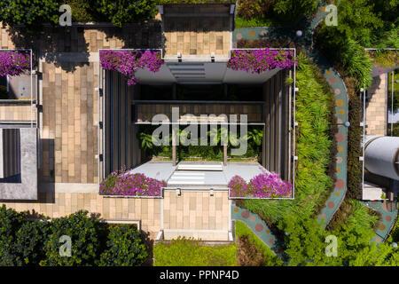 Design of urban farm rooftop garden at Funan Mall ...
