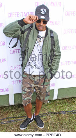 Fazer backstage at Total Access Live, Betley Court Farm, Betley, Cheshire on saturday 13 august 2016 - Stock Photo