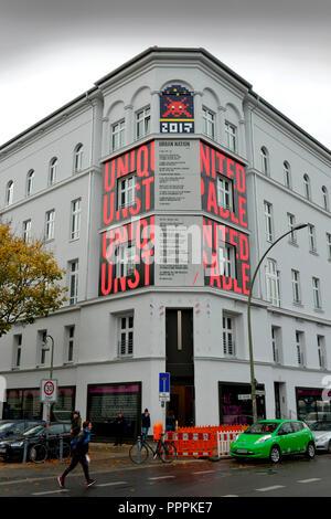 Urban Nation Museum, Buelowstrasse, Schoeneberg, Berlin, Deutschland, Bülowstrasse - Stock Photo