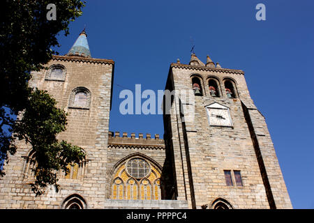 The cathedral in Evora, Portugal - Stock Photo