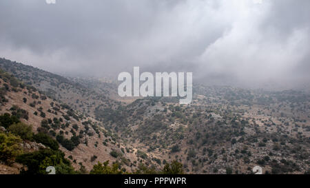 Traveling at Golan Heights - Stock Photo