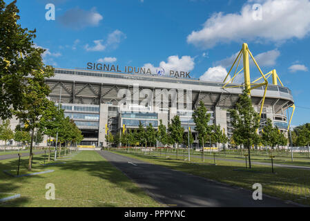 Signal Iduna Park, soccer stadium, BVB, Dortmund, Ruhr district, North Rhine-Westphalia, Germany